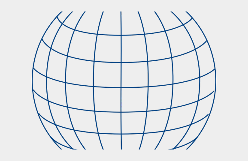 globe clipart vector, Cartoons - Globe Clipart Vector - Wire Globe Png
