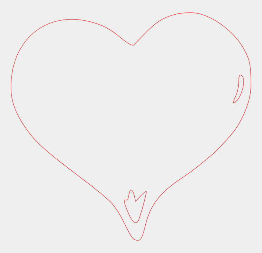 clipart lines and bars, Cartoons - Line Clipart Pink - Heart