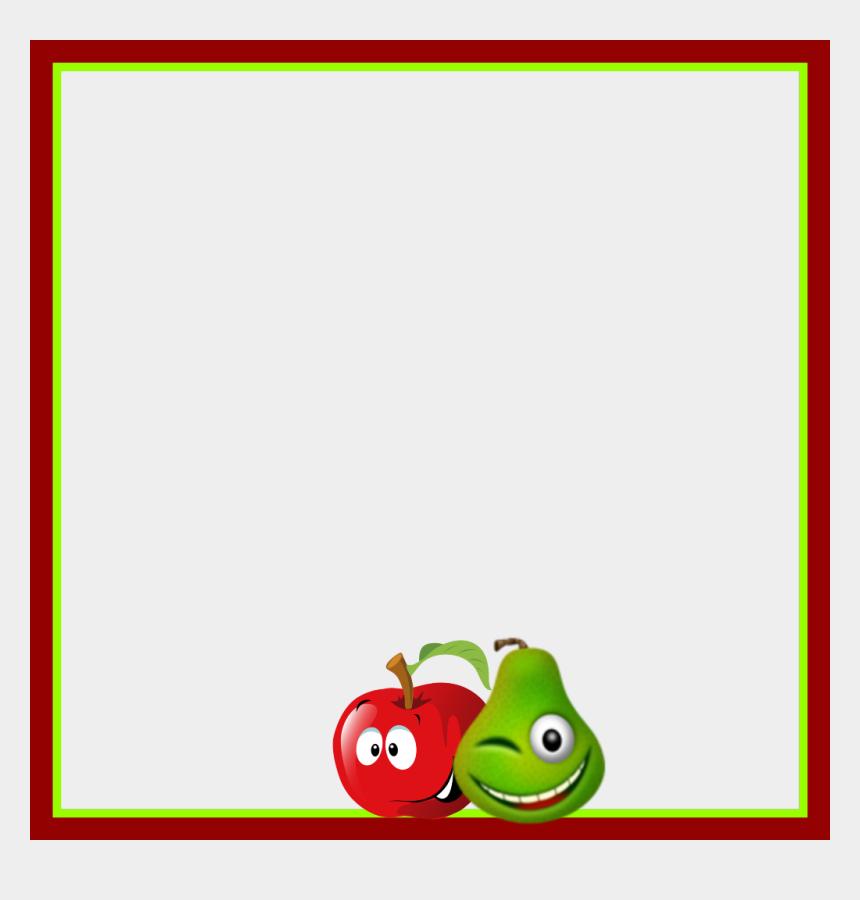 fruit border clipart, Cartoons - #mq #fruits #fruit #frame #frames #border #borders - Fruit Frame