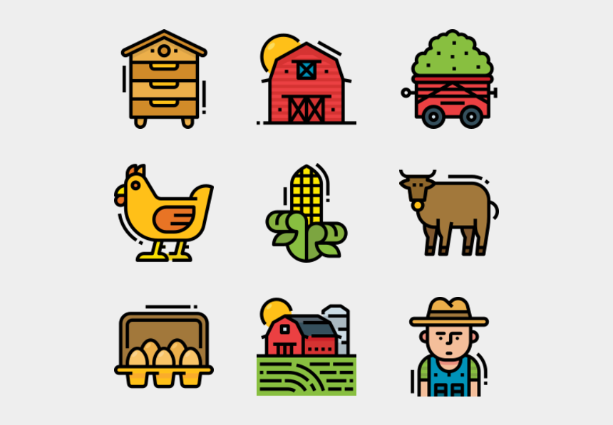 free vegetable garden clipart, Cartoons - Farm - Back To School Icon Png