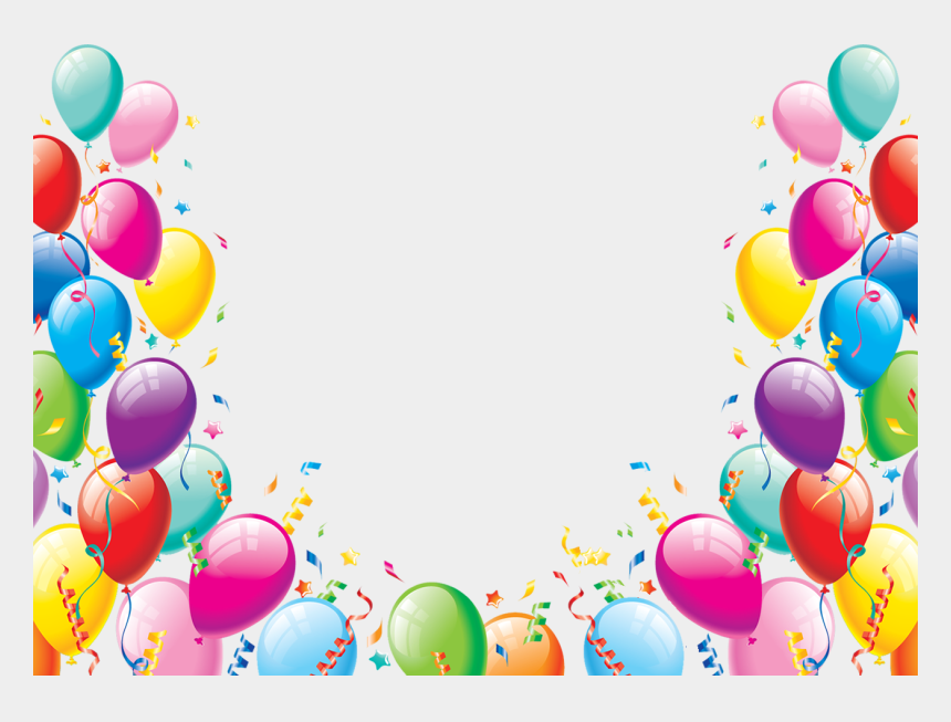 party decorations clipart, Cartoons - Birthday Balloons Png - Party Balloons Png