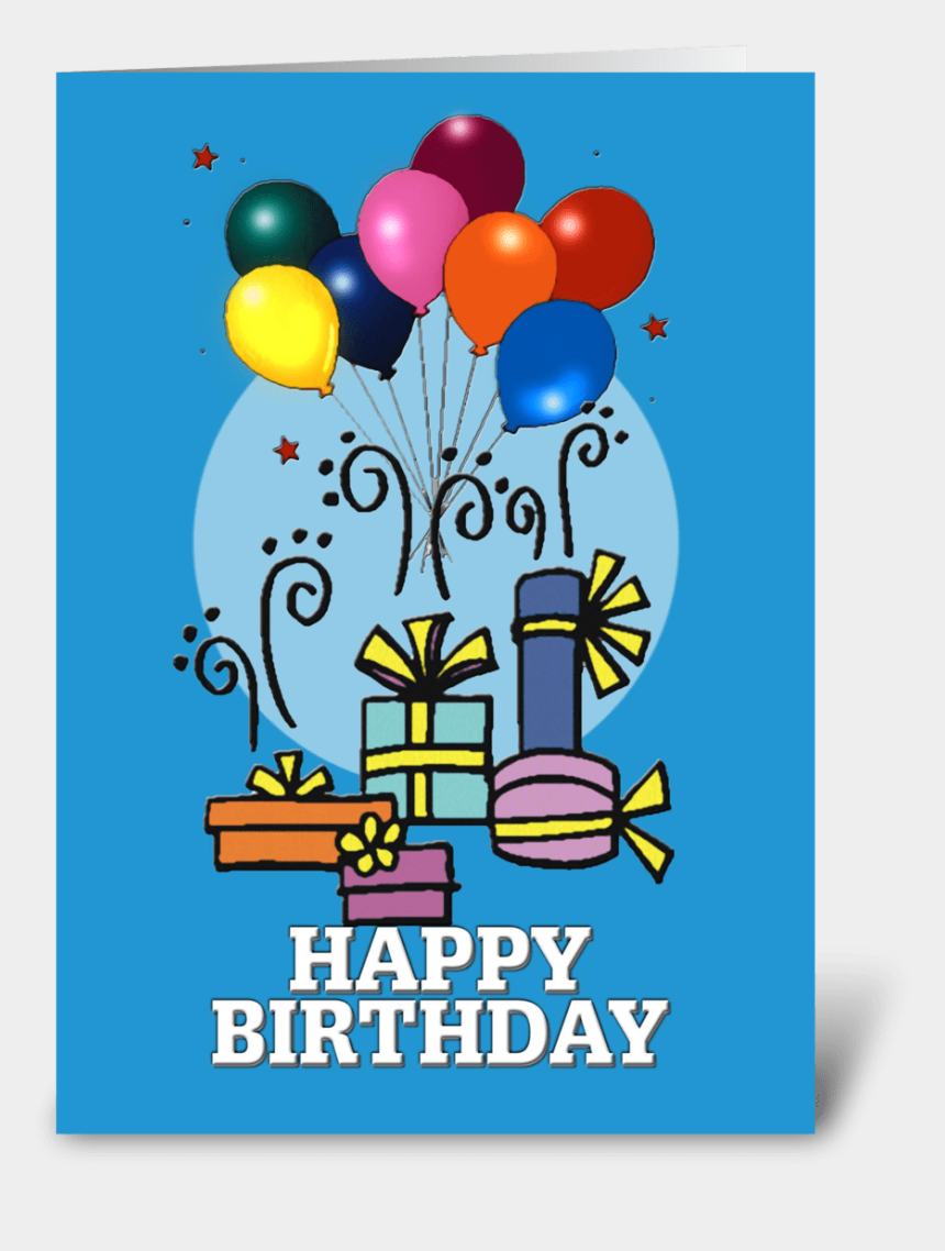 happy birthday card clipart, Cartoons - Balloons, Happy Birthday Card - Birthday Party