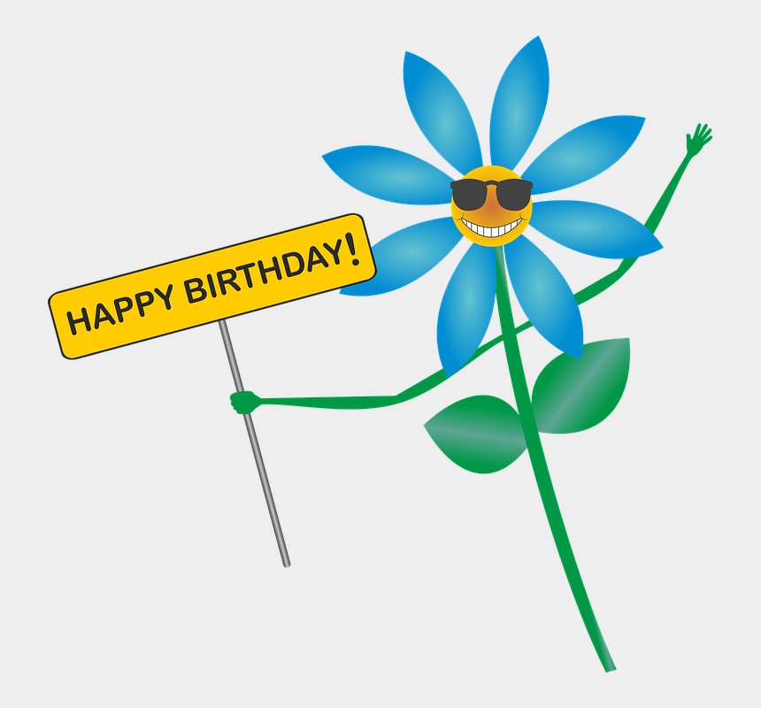 free clipart birthday wishes, Cartoons - Happy Birthday Birthday Greeting Flower Smile - Birthday Flowers Images Clip Art