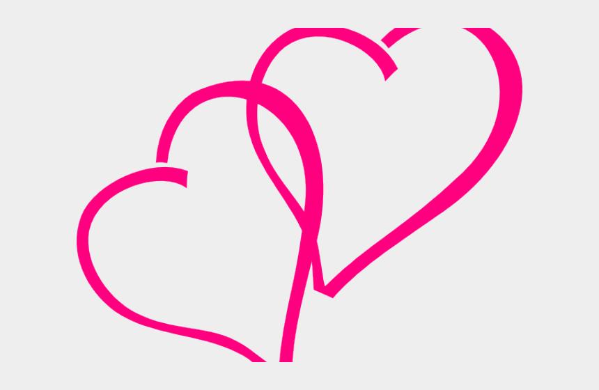 pink frame clipart, Cartoons - Transparent Pink Heart Clipart