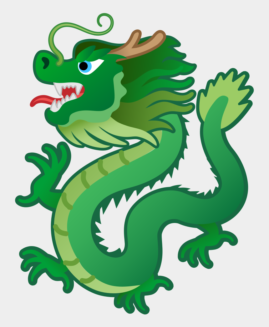 chinese lion clipart, Cartoons - Dragon Face Png - Discord Dragon Emoji