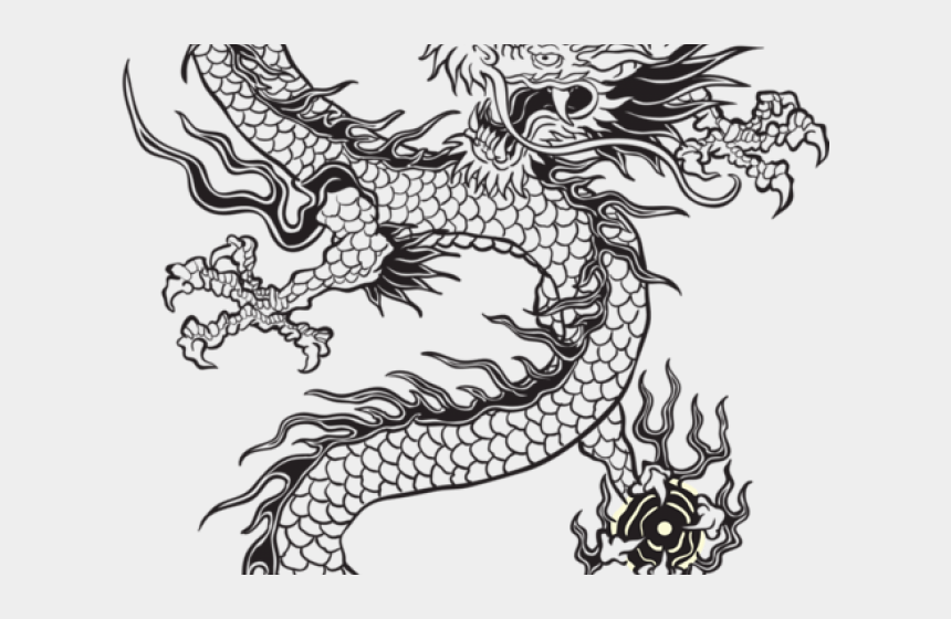 japanese dragon clipart, Cartoons - Drawn Chinese Dragon Japanese Dragon - Chinese Dragon Png