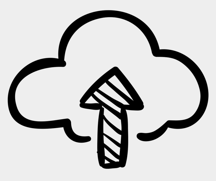 internet cloud clipart, Cartoons - Upload Icon Png - Download Sketch Icon Png