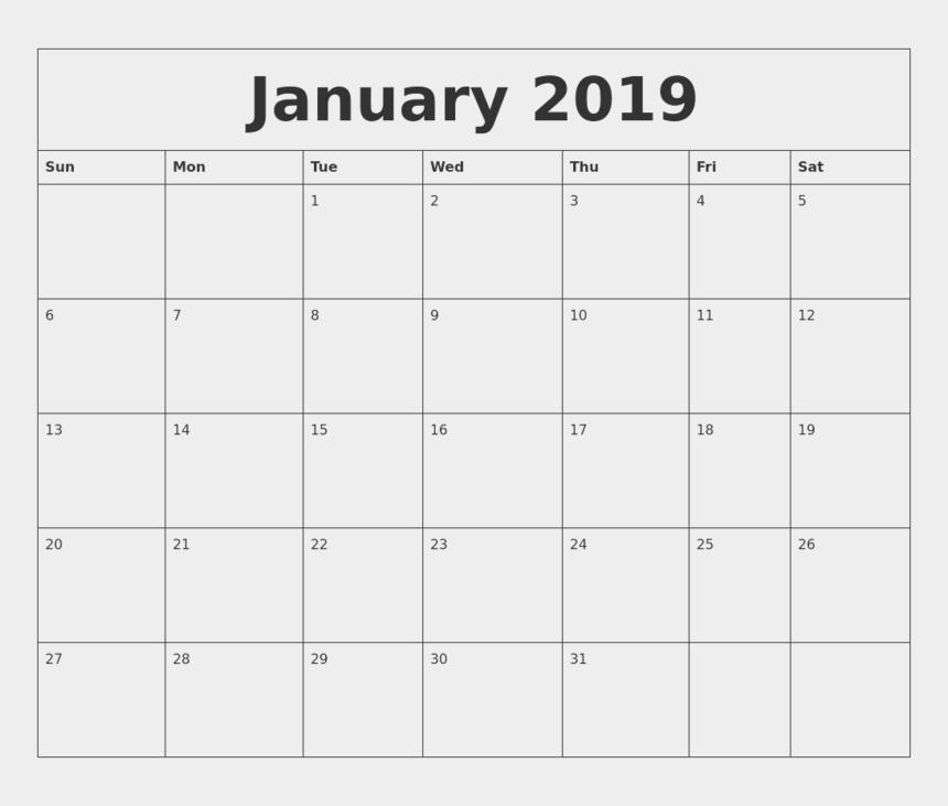 blank calendar clipart, Cartoons - 2019 Calendar Png Transparent Image - Month Of May Calendar 2018
