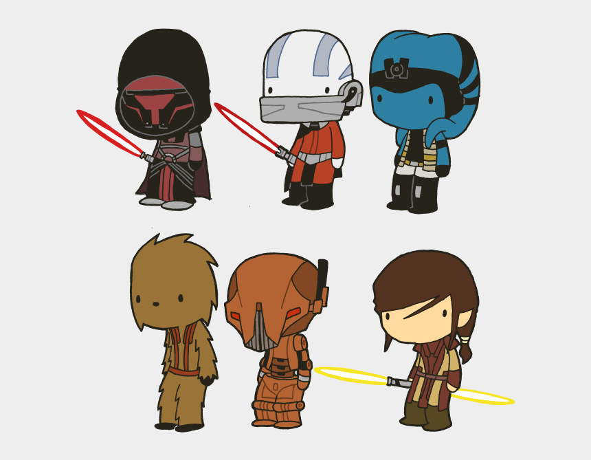 clipart of star wars characters, Cartoons - Below You Will Find A Few Other Star Wars Characters - Star Wars Characters