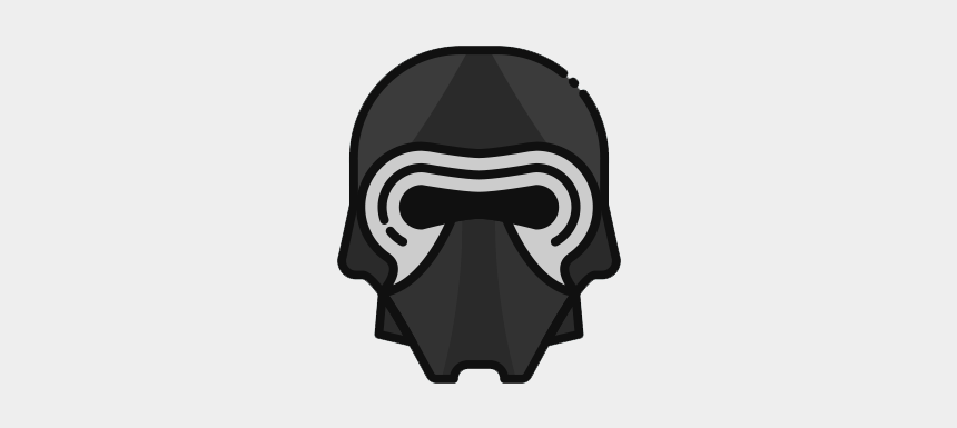 kylo ren clipart, Cartoons - Log In With Itch - Skull