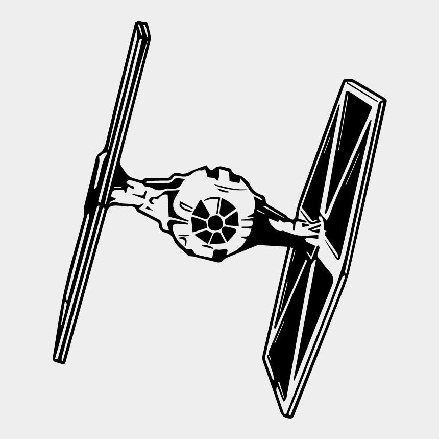 star wars digital clipart, Cartoons - Star Wars Clipart Tie Fighter - Star Wars Tie Fighter Clipart