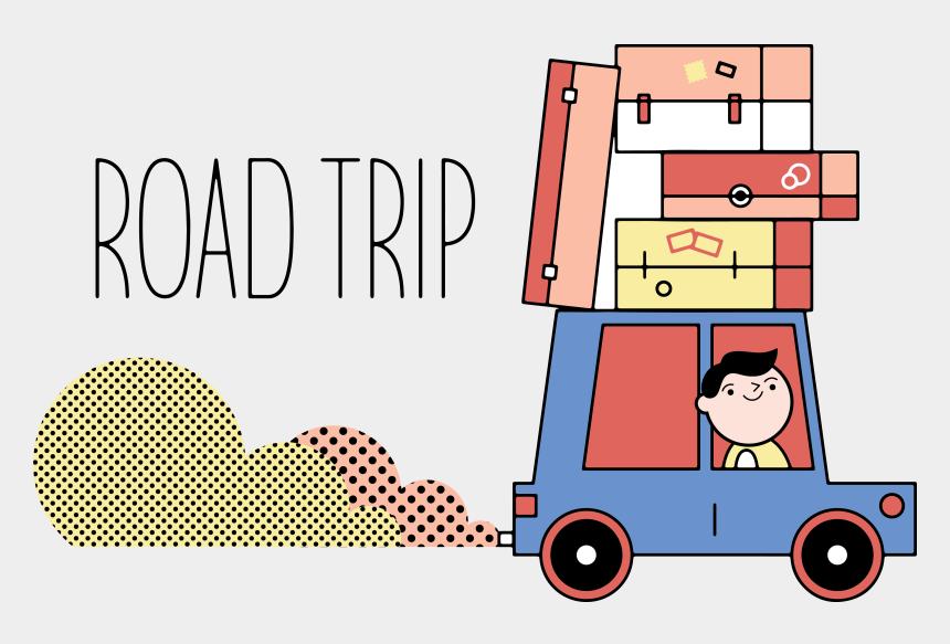car trip clipart, Cartoons - Travel Tourism Cartoon Self Driving Tour Ⓒ - Vacation Road Trip Cartoon