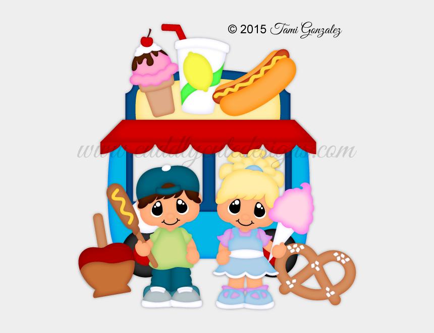 food stall clipart, Cartoons - Foods Clipart Carnival - Cartoon Clip Art Carnival Food