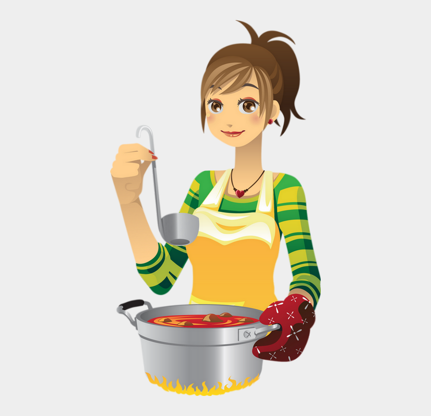 Animated Person Cooking Food, Cliparts & Cartoons - Jing.fm