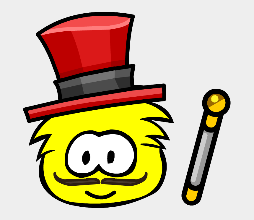 circus ringmaster clipart, Cartoons - Great Puffle Circus Ringmaster - Club Penguin Blue Puffle