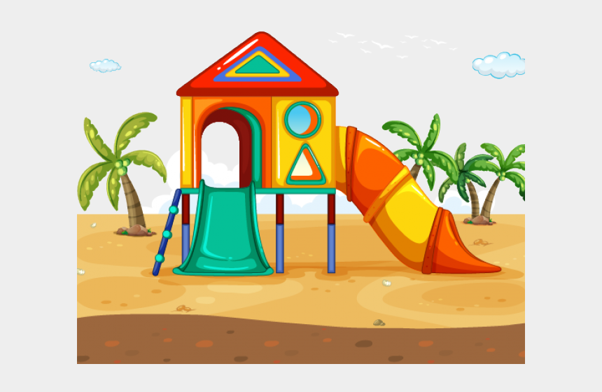 playground equipment clipart, Cartoons - Outdoor Clipart Slippery Slide - Playground Clip Art Free