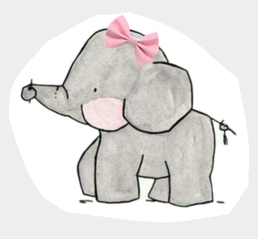 elephant family clipart, Cartoons - #baby #bow #elephant #family - Cute Elephant Drawing