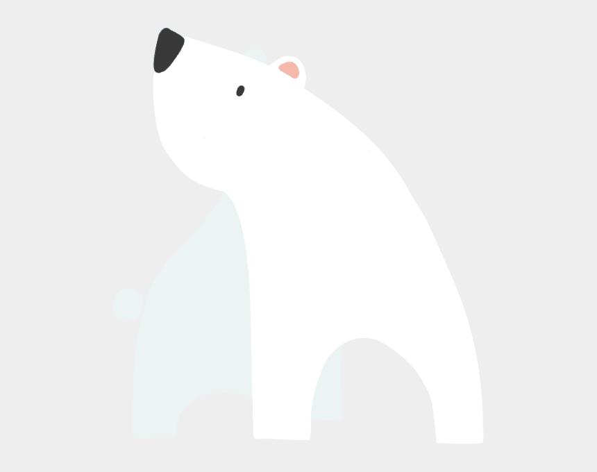 polar bear clipart free, Cartoons - Cold Clipart Polar Bear - Cartoon