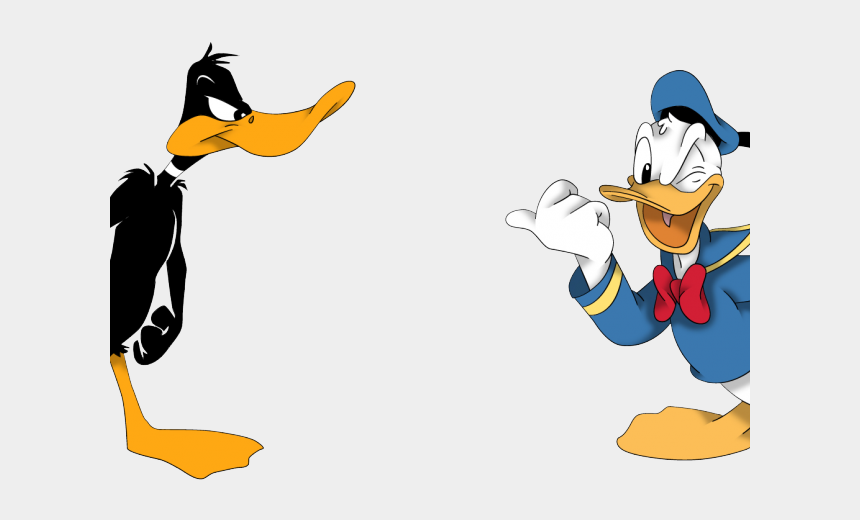 debate clipart, Cartoons - Quoth Clipart Debate - Difference Between Donald And Daffy Duck