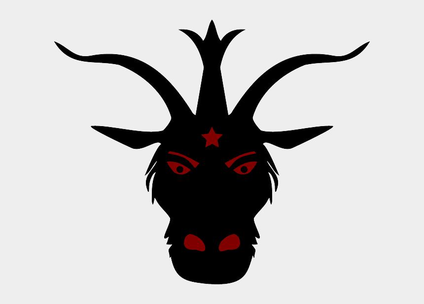 minion clipart, Cartoons - Free Devil Head - Devil Goat Head Transparent