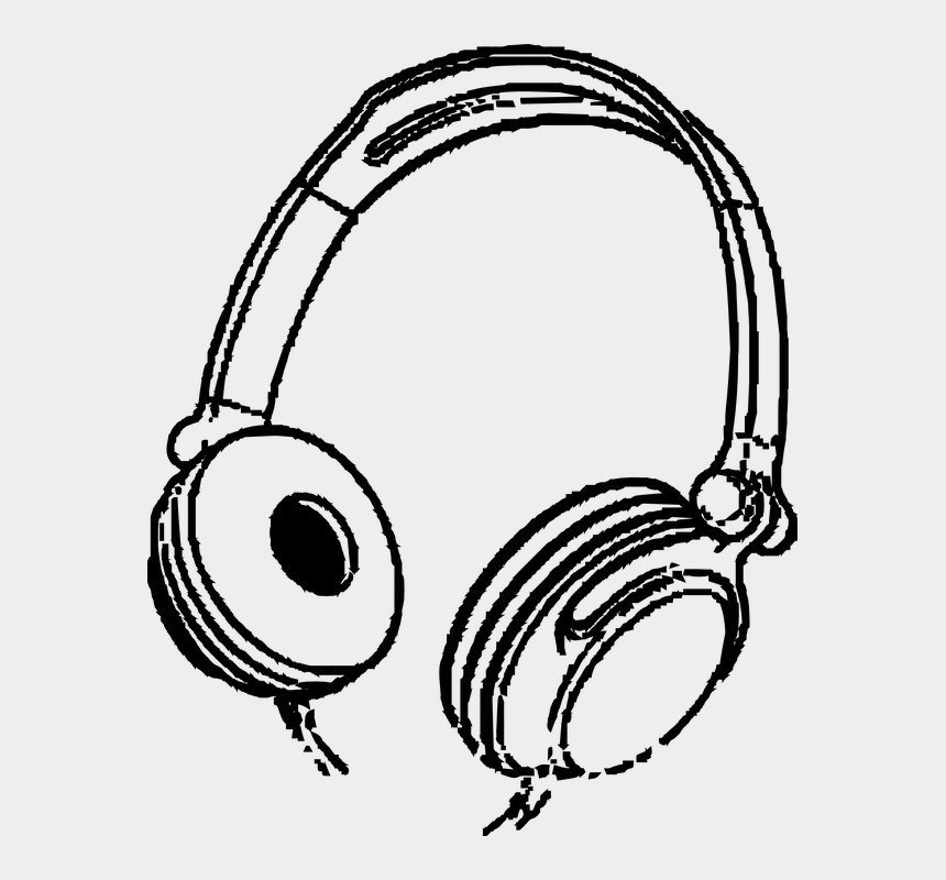 listen to music clipart, Cartoons - Headphones Music Entertainment Audio Sound Stereo - Headphones Clipart
