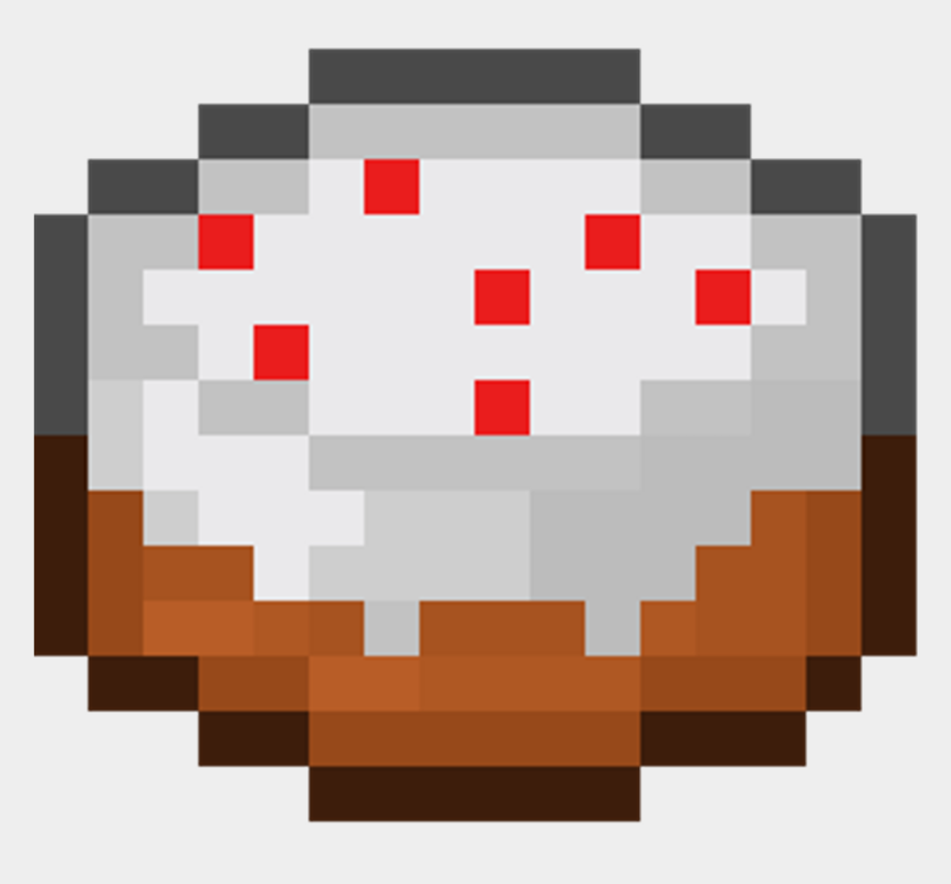 Minecraft Clipart Cute Minecraft Minecraft Cake In Game