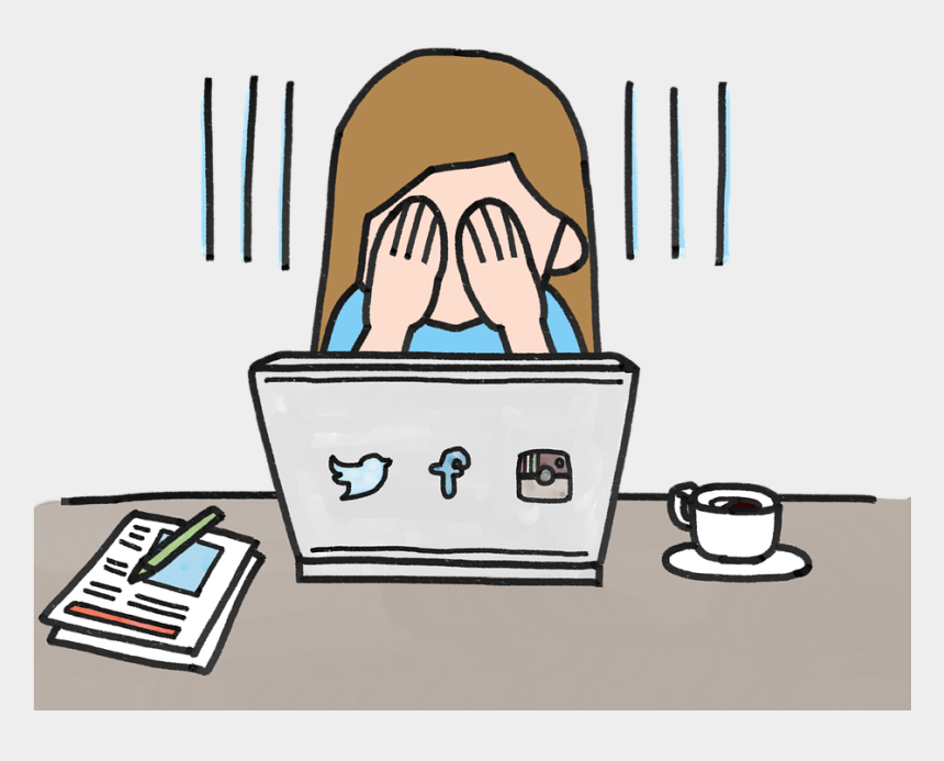 psychology clipart, Cartoons - Psychology Clipart Anxiety Brain - Making Comparisons On Social Media