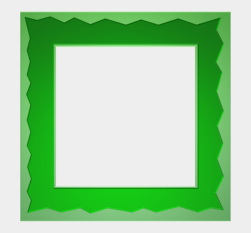 st patrick's day clipart, Cartoons - St Patrick Day Frame Png - Border Green