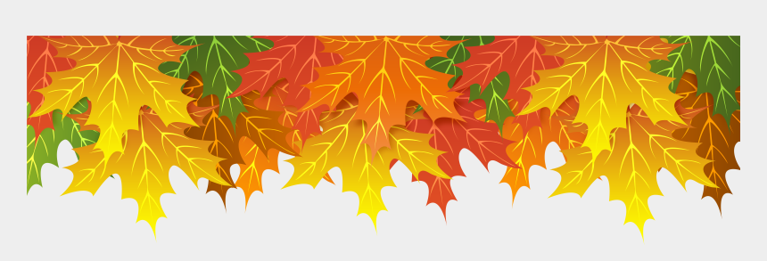 fall leaf clipart, Cartoons - Fall Leaves Border Png - Transparent Fall Border Png