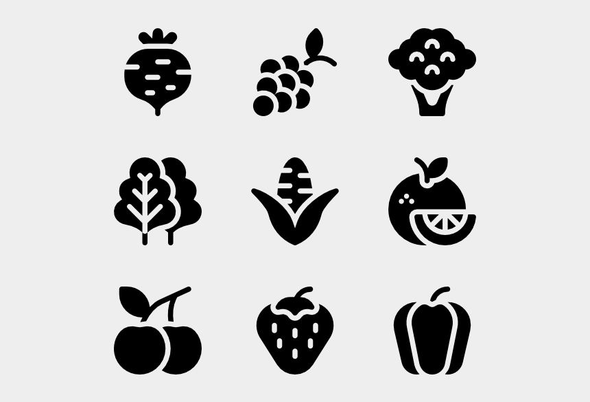 apple clipart black and white, Cartoons - Vector Fruits Black And White - Drawing Vector