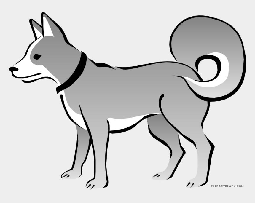 animal clipart black and white, Cartoons - Sad Dog Animal Free Black White Clipart Images Clipartblack - Cartoon Dog Transparent Background