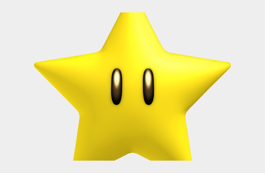 gold star clipart, Cartoons - Mario Clipart Gold Star - Smiley