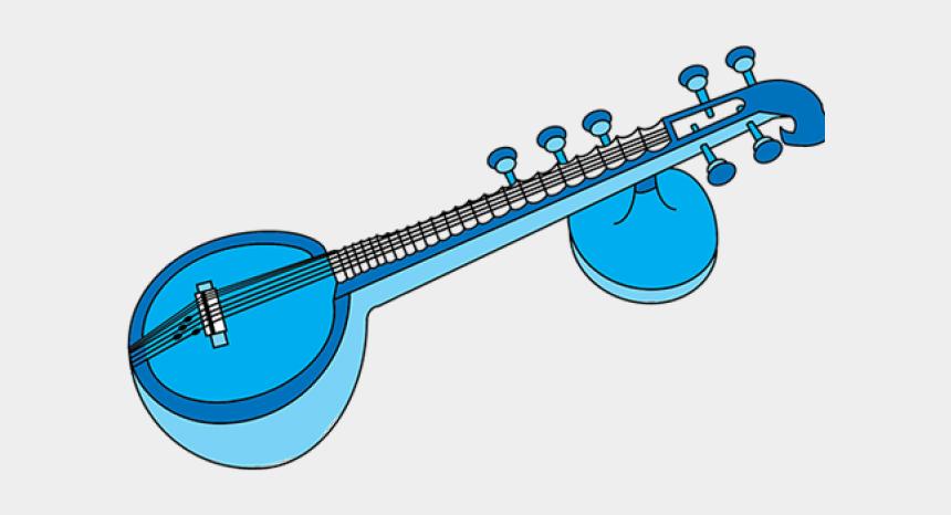 musical instruments clipart, Cartoons - Veena Musical Instrument