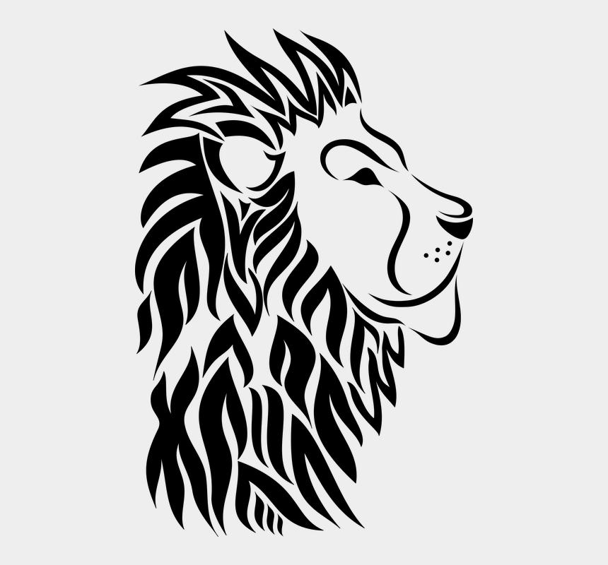 lion clipart black and white, Cartoons - Lion, Animal, Head, Mane, Nature - Disney Mental Health Quotes