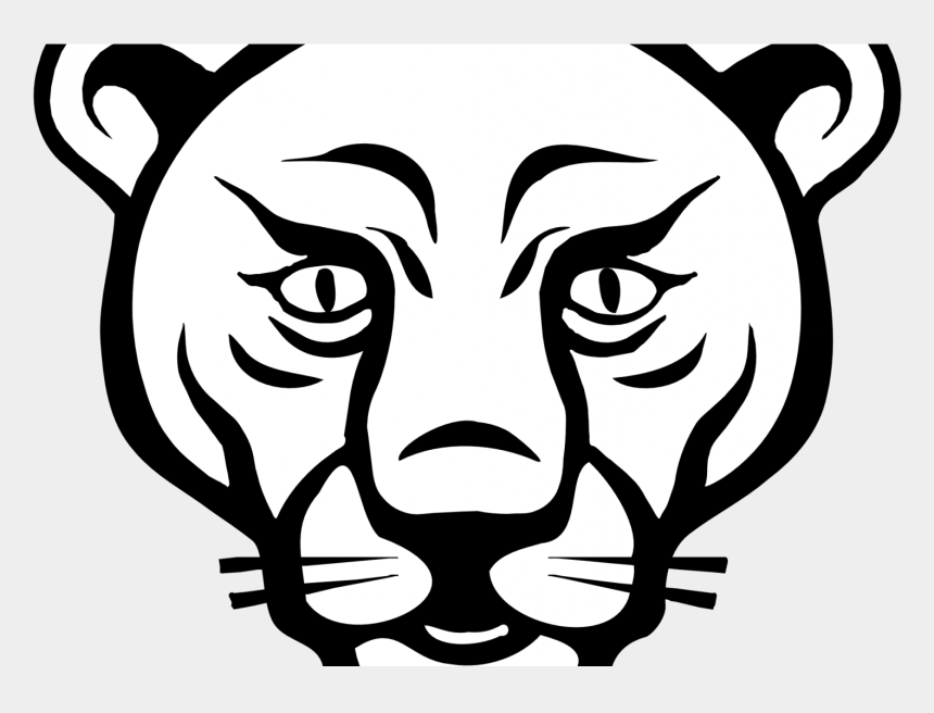graphic regarding Lion Printable called Lion Clipart Printable - Facial area Mountain Lion Drawing