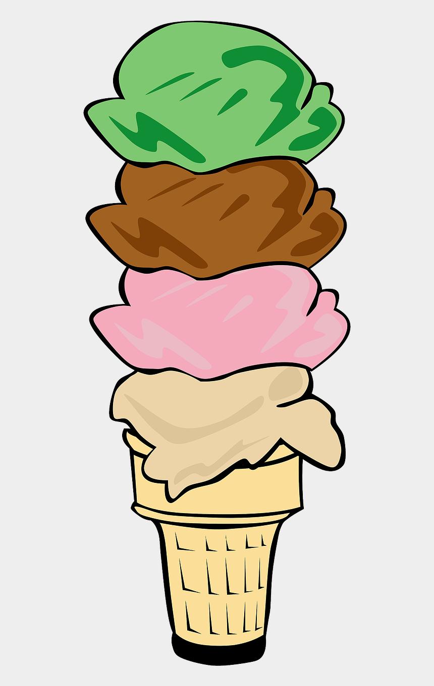 strawberry ice cream clipart, Cartoons - Ice - Ice Cream Cone Clip Art