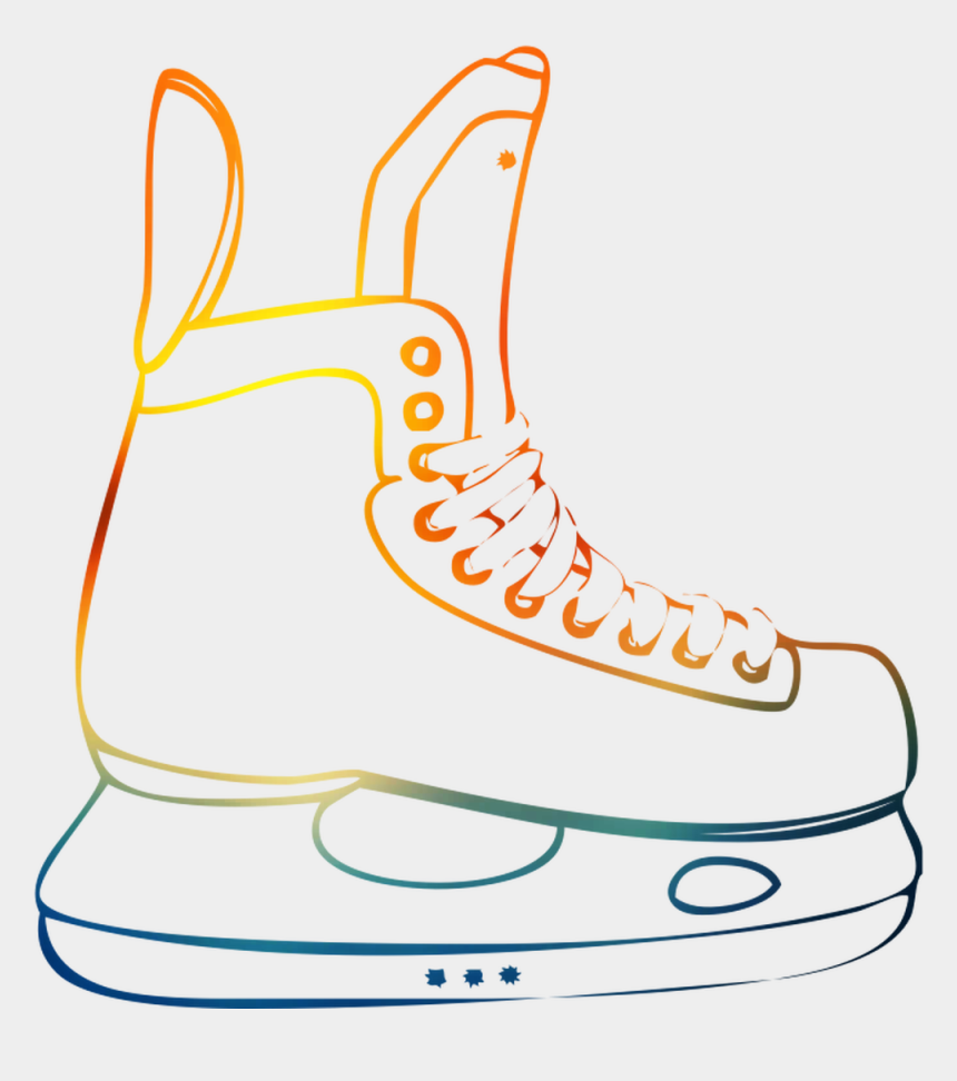 ice skating shoes clipart, Cartoons - Design Clothing Shoe Illustration Accessories Free - Figure Skate