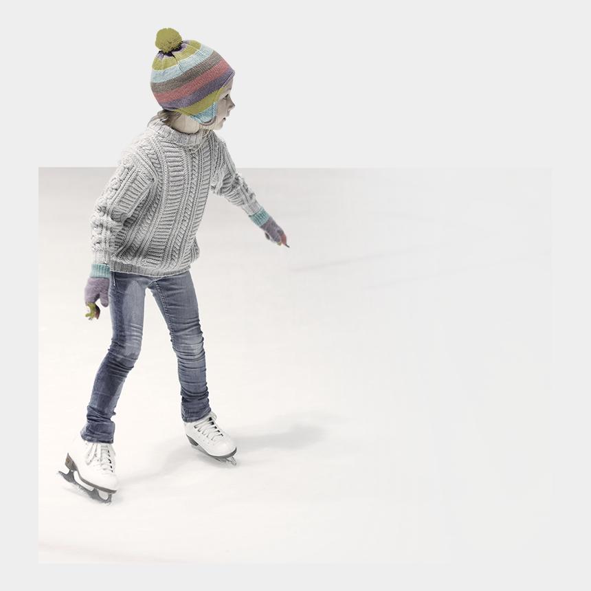 ice rink clipart, Cartoons - Start Skating - Figure Skate