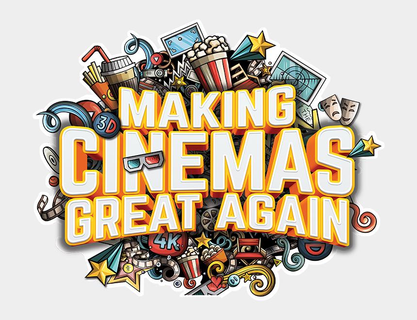 movie theater building clipart, Cartoons - 14 Years 24 Cinema Websites 14 Cinema Apps - Illustration