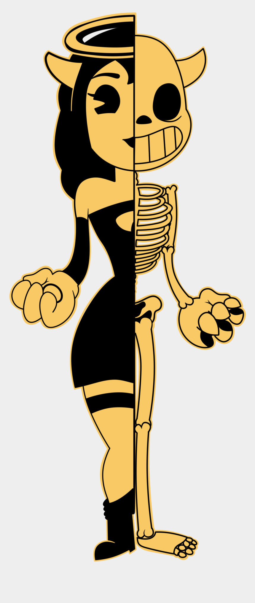 i voted clipart, Cartoons - Png Transparent I M Angel Bendyandtheinkmachine Im - Bendy And The Ink Machine Rule 34