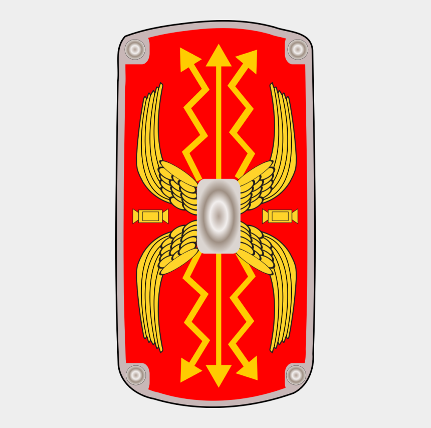 roman shield clipart, Cartoons - File - Roman Shield - Svg Wikipedia - Roman Shield