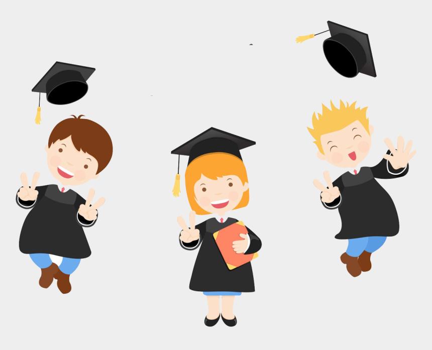 clipart for graduation invitations, Cartoons - Primary School Graduation Invitations , Png Download - Congratulation Graduate Vector