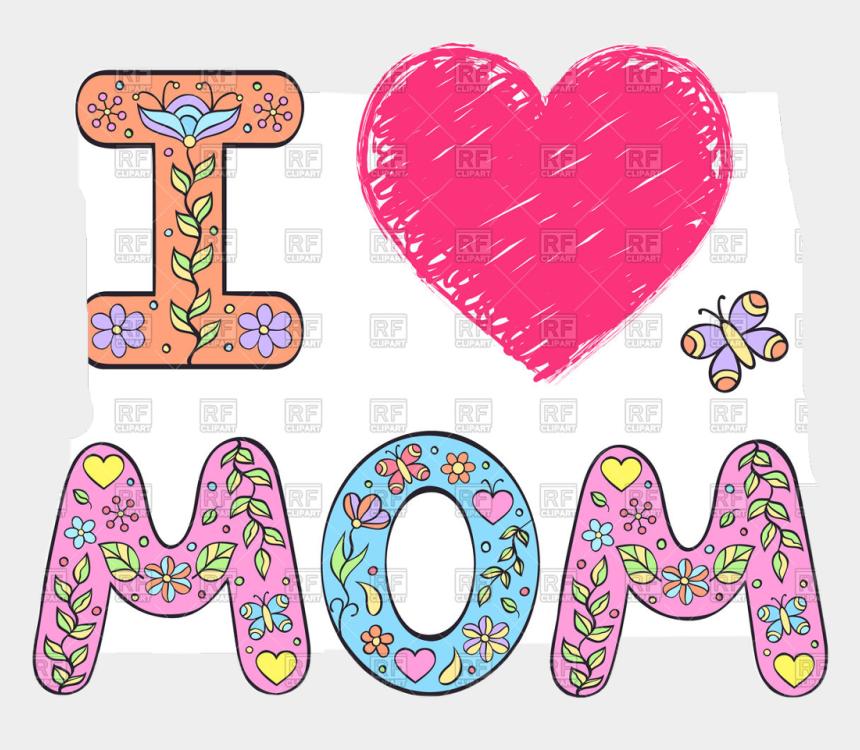 i love mom clipart, Cartoons - #love #mom #best #freetoedit - Imagen I Love Mom