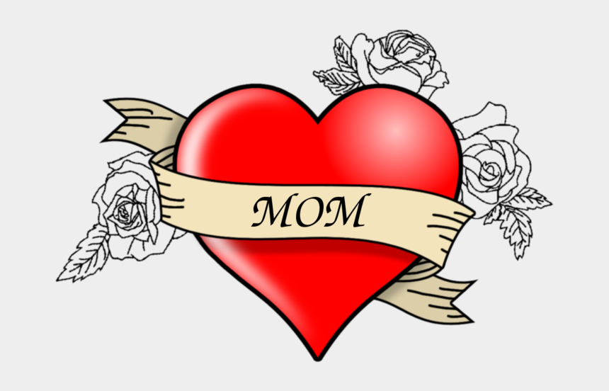 mothers love clipart, Cartoons - Mom Heart Png
