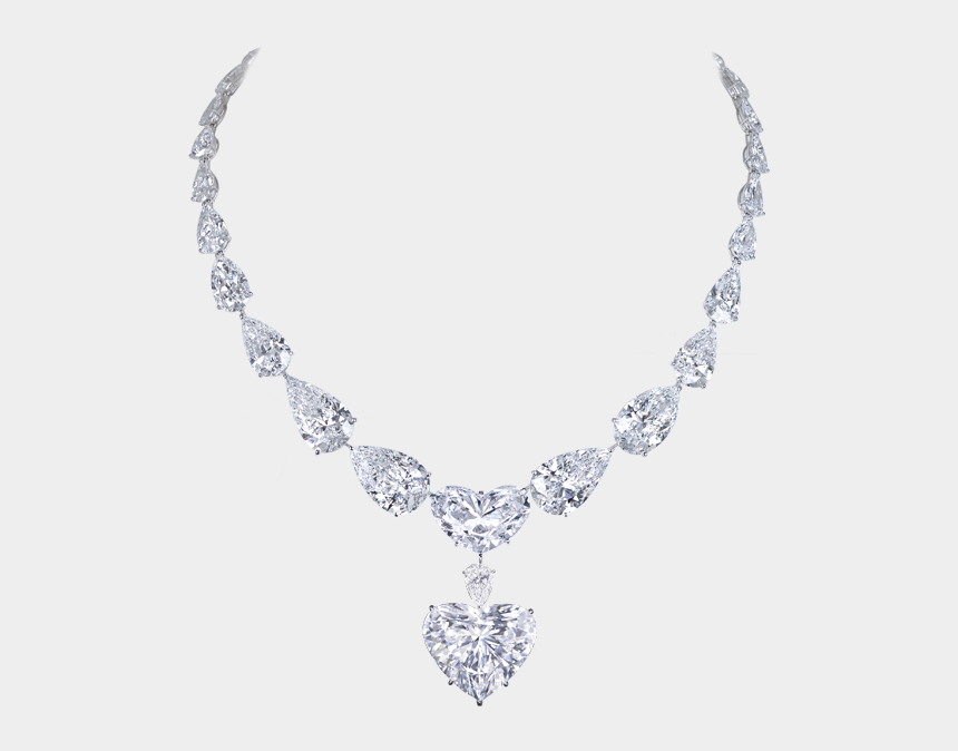 diamond necklace clipart, Cartoons - Ожерелье Png