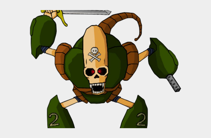 robot head clipart, Cartoons - Dragon Ball Pirate Robot