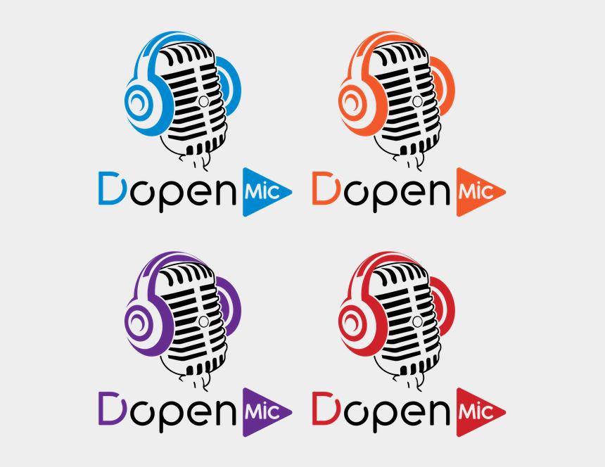 open mic clipart, Cartoons - Open Mic Png - Microphone Vector