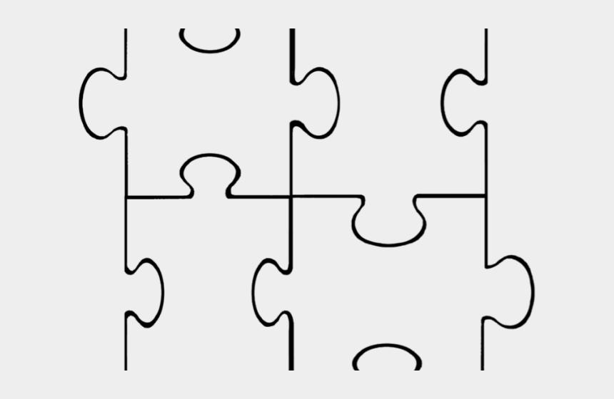 Puzzle printable. Pice clipart template piece