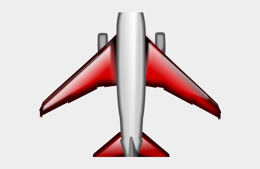 airplane border clipart, Cartoons - Plane Clipart Top - Airplane Clipart Top View
