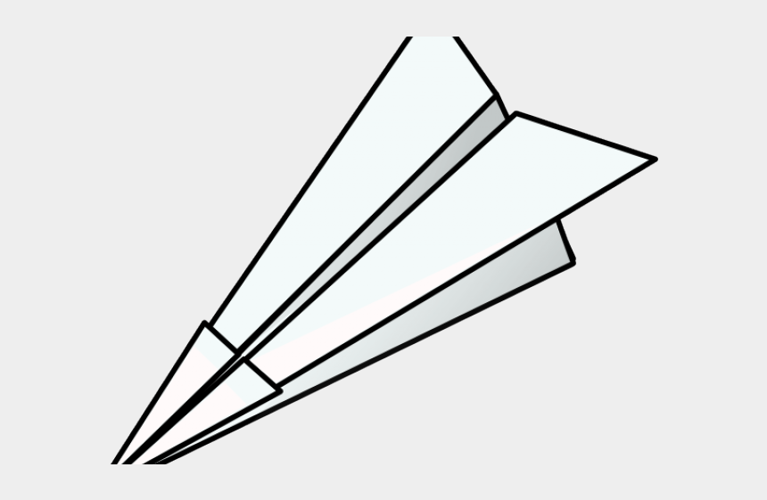 inclined plane clipart, Cartoons - Plane Clipart Simple - Paper Plane Clipart Black And White